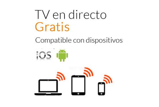 Television en directo gratis en iOS y Android