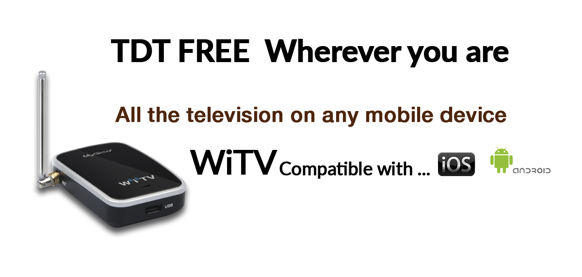 WiTV, TDT gratis donde quieras